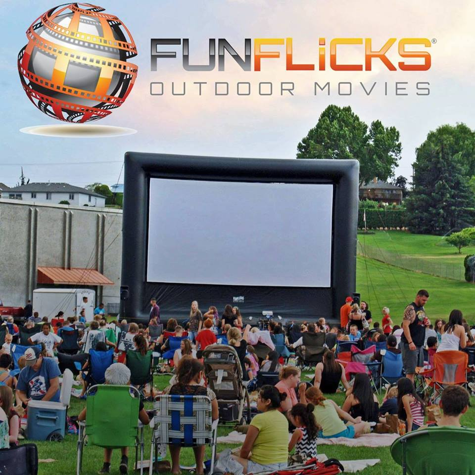 Funflicks Outdoor Movies Prime Trade Nw